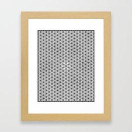 Fowler of life grid Framed Art Print