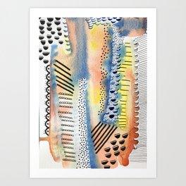 Exes & Oh Nos Art Print