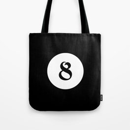 Eight ball pattern Tote Bag