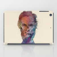 lincoln iPad Cases featuring Zombie Lincoln by Albert F. Montoya