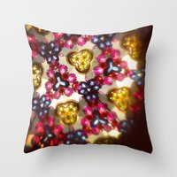 kaleidoscope Throw Pillows featuring Kaleidoscope by ADH Graphic Design