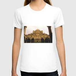 Mosque from above. T-shirt