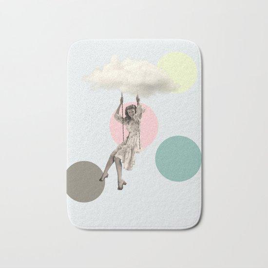cloudy day Bath Mat