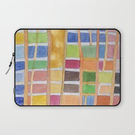 Rectangle Pattern With Sticks Laptop Sleeve