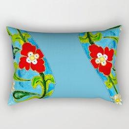 Genie Enamel Rectangular Pillow