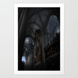 Gothic Light Art Print