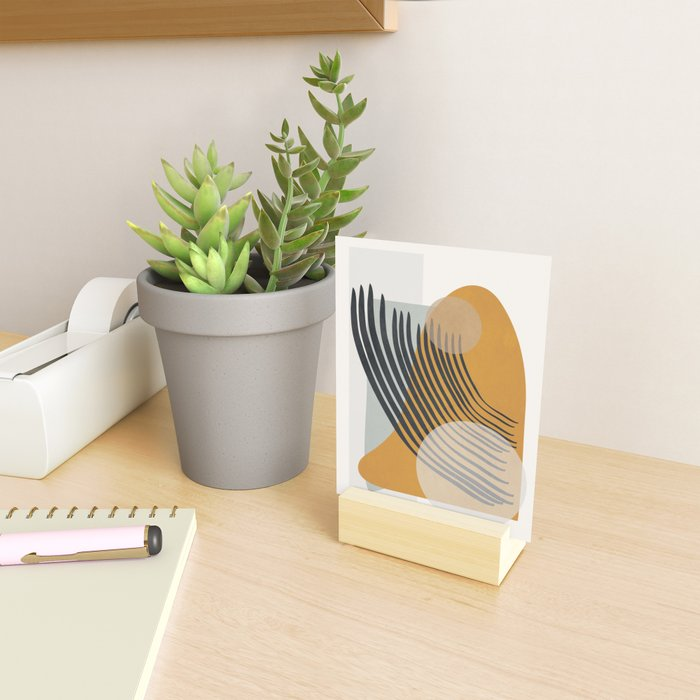 Abstract Shapes 33 Mini Art Print