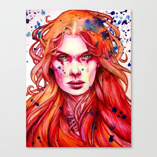 Firestarter Canvas Print