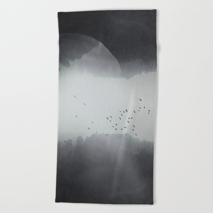 Spaces VIII - Singularity Beach Towel