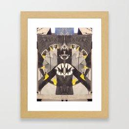 Toothy Grin Framed Art Print