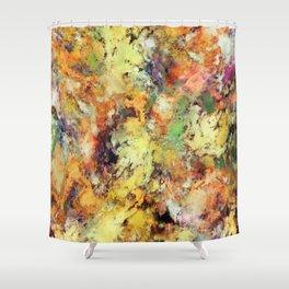 Brittle Shower Curtain