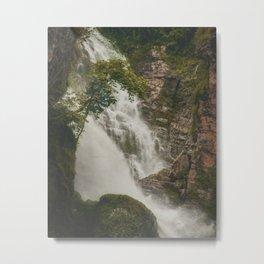 The Waterfalls of Nepal 001 Metal Print