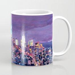 Empire State Building Feeling Like A Blue Giant Coffee Mug