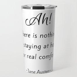 Jane Austen - Home Travel Mug