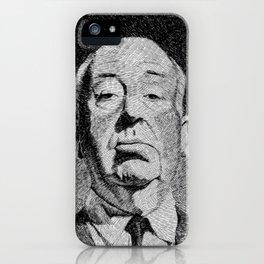 Fingerprint - Hitchcock iPhone Case