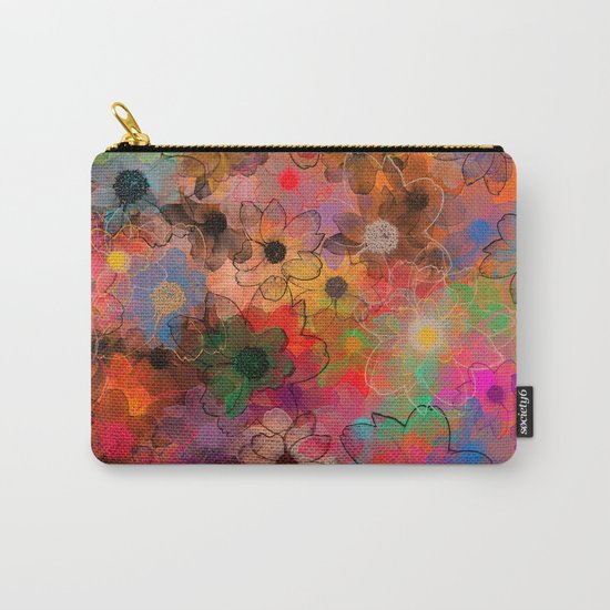 Flower carpet(34). Carry-All Pouch