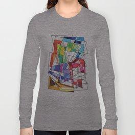 Abstract 10 Long Sleeve T-shirt