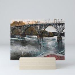 Along the Schuylkill Mini Art Print