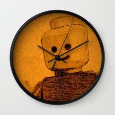 Old Lego Wall Clock