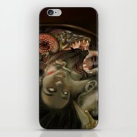 helen iPhone & iPod Skins featuring Helen Vaughan by Sandpaperdaisy