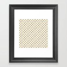 Yoga Panda Framed Art Print
