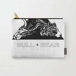 Bull + Bear Carry-All Pouch
