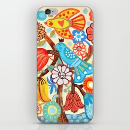 Pop Flowers iPhone Skin