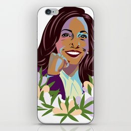 Madam Vice President for the People iPhone Skin