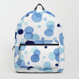 Blue bubbles everywhere Backpack