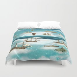 Ocean Meets Sky - revised Duvet Cover