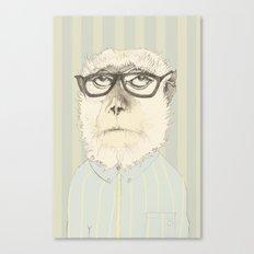 monkey gafapasta Canvas Print