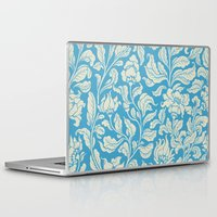 ethnic Laptop & iPad Skins featuring neo ethnic cerulean by Lidija Paradinović Nagulov - Celandine