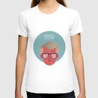 woody allen T-shirts featuring WOODY ALLEN by Gerardo Lisanti