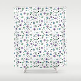 Eyes eyes baby - Color Shower Curtain