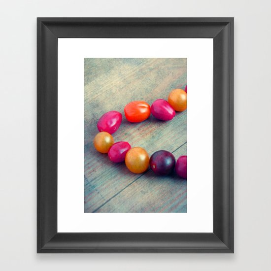 colorate Framed Art Print