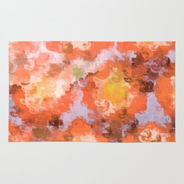 Coral Sunset Rug
