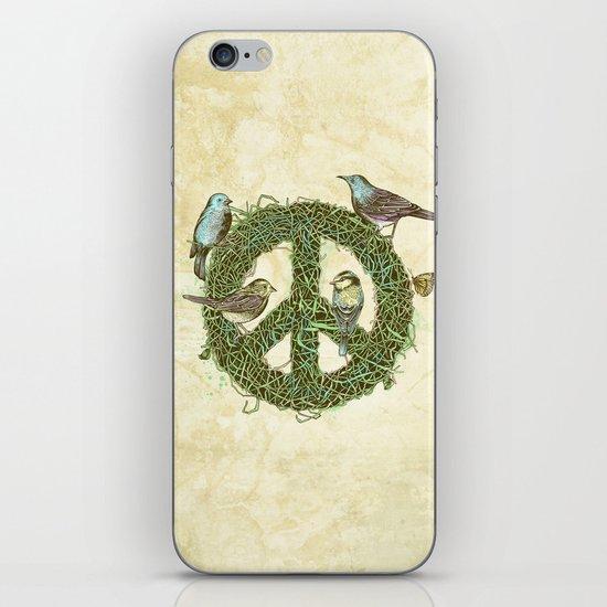 Peace Talks iPhone & iPod Skin