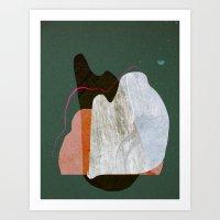 norway Art Prints featuring Norway by Jasmine Sierra
