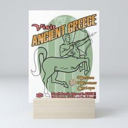 Visit Ancient Greece Mini Art Print