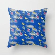 Unicorn Party Throw Pillow