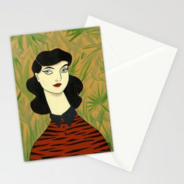 Tiger Sweater Stationery Cards