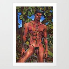 His Secret Spot Art Print