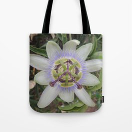 Passion Flower Blossom Tote Bag