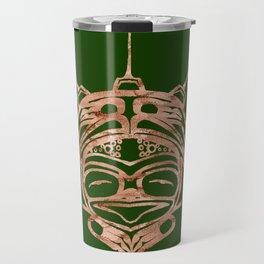 Copper Frog Grass Travel Mug