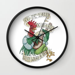 Alan A Dale - Oo de Lally Golly What a Day Roster Wall Clock