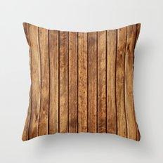 PLANKS Throw Pillow