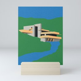Falling Water Mini Art Print