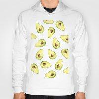 avocado Hoodies featuring avocado by Lucia Devetakova