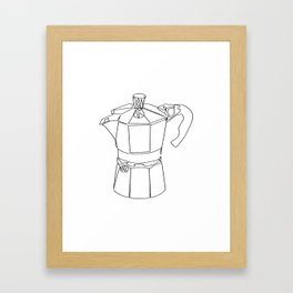 """"""" Kitchen Collection """" - Coffee Maker Framed Art Print"""