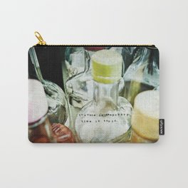 Time is Tonic Carry-All Pouch